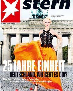 Franziska Knuppe auf dem Titelbild des Stern-Magazins